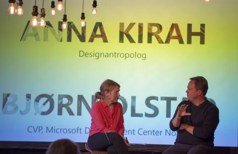 Anna Kirah og Bjørn Olstad