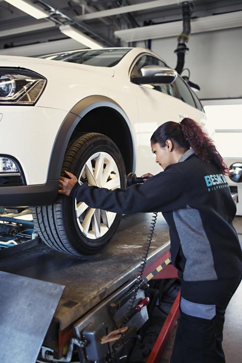 Idag öppnar Besikta bilprovning i Mönsterås - Mönsteråsborna kan därmed för första gången besiktiga bilen på hemmaplan
