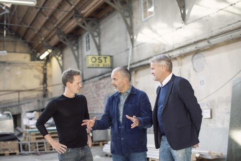 Från garage till kulinariskt mecka - om ett år öppnas portarna till Artilleristallarna i Göteborg