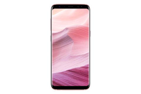 Galaxy S8 Rose Pink_Front