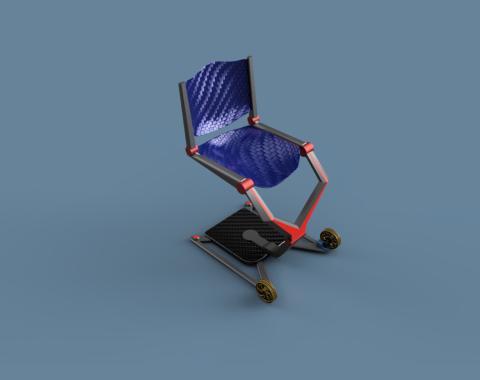 James Dyson Award 2018 – Zweitplatzierte auf internationaler Ebene, Air Chair