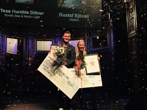 Gustaf Sjövall, vinnare årets branschstjärna 2016