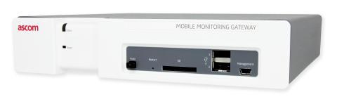 Ascoms Mobile Monitoring Gateway (MMG) frisläppt i enlighet med det medicintekniska direktivet (MDD)