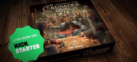 ​Final day for Crusader Kings the Board Game Kickstarter Campaign