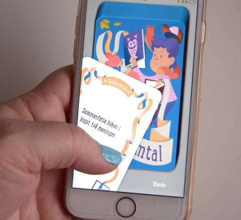 Vårbyskolans elever släpper ny app för boksamtal