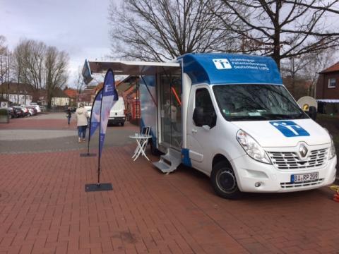 Beratungsmobil der Unabhängigen Patientenberatung kommt am 22. Januar nach Soltau.