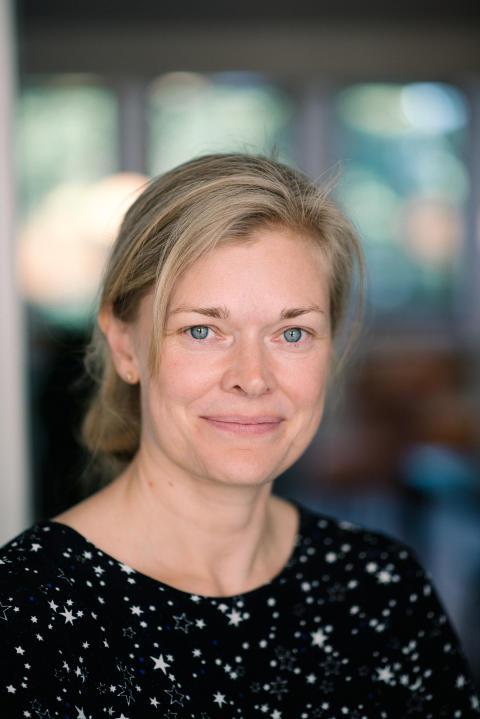 Matilda Lembke, jurymedlem från Almi i Stockholm för SKAPA innovationstävling