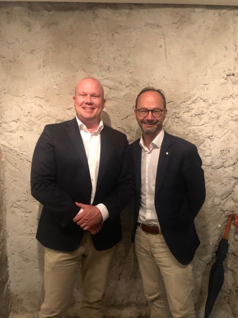 Marcus Risberg och Tomas Eneroth