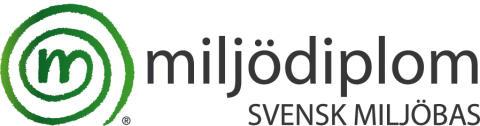 Medborgarskolan i Skåne är miljödiplomerat