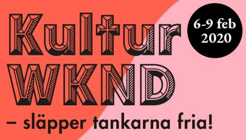 Inbjudan till pressträff om KulturWKND 2020