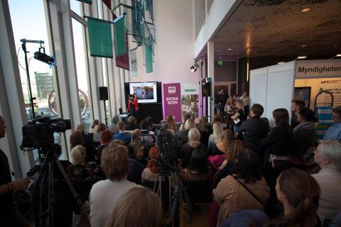 Publik vid Stora Scen, Mänskliga Rättighetsdagarna 2016