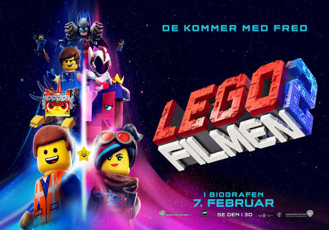 LEGO FILM EVENT I VINTERFERIEN