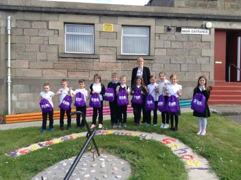 Moray schools have STEM experiments in the bag