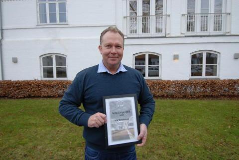 Erik Christiansen, MAN Esbjerg, blev kåret som årets MAN sælger 2015