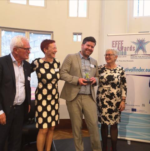 Europeisk festivalpris til Førdefestivalen
