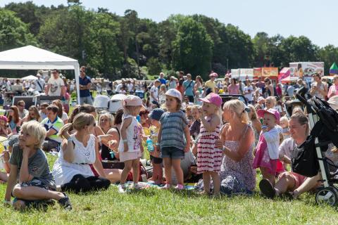 Många besökare kom till Barnens Dag
