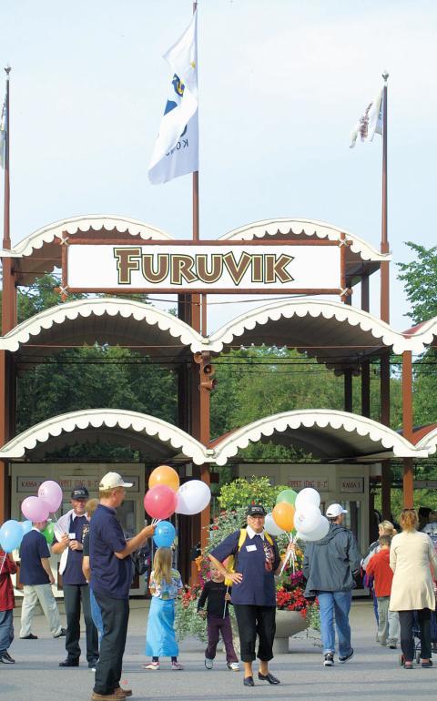 Nu öppnar Furuvik för säsongen