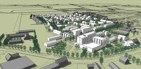 Midroc utvecklar drygt 200 bostäder i Tygelsjö, Malmö