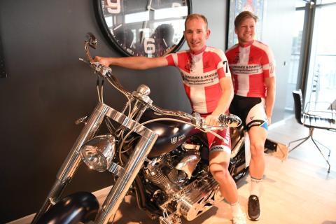 Lasse Norman og Michael Mørkøv udgør par nr. 7