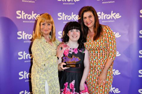 14-year-old stroke survivor wins courage award