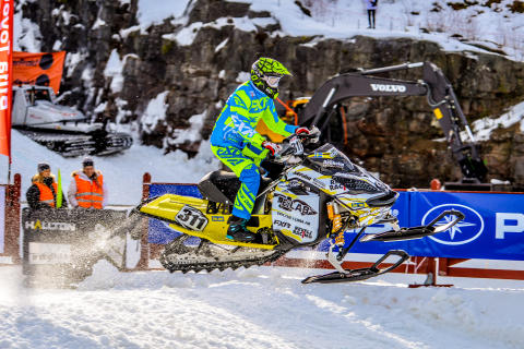 Adam Renheim snowcross