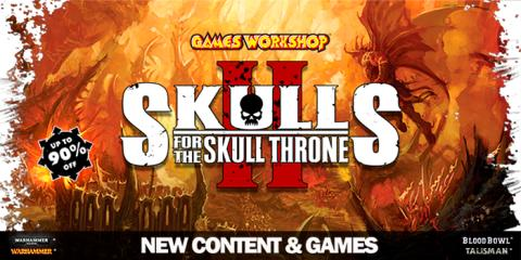 Skulls for the Skull Throne - Games Workshop Steam sale!
