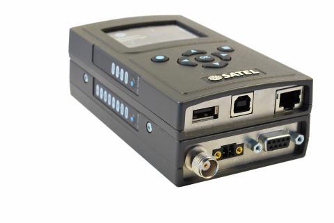 SATELLAR-2DSd radiomodem med Ethernet och DSP