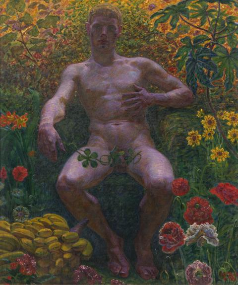 Nyförvärv: Adam i Paradiset av Kristian Zahrtmann