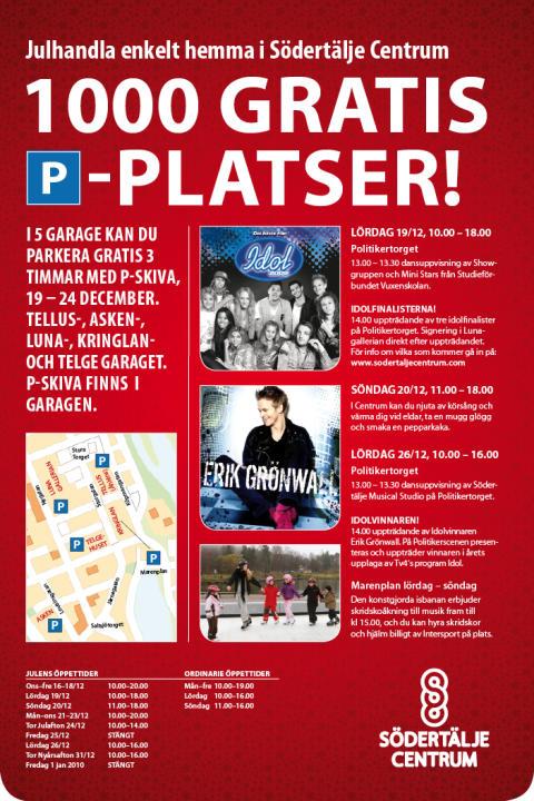 Idolfinalisterna till Södertälje Centrum!