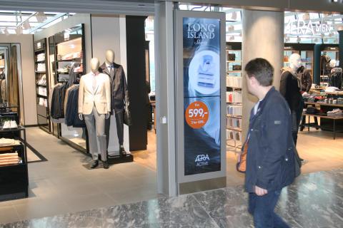 Specialdesignade Infoskåp till Oslo Airport