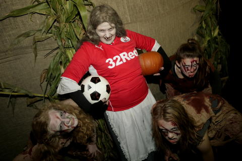 Spend the evening with Crawley Town FC at Tulleys Shocktober Fest Scream Park this Thursday