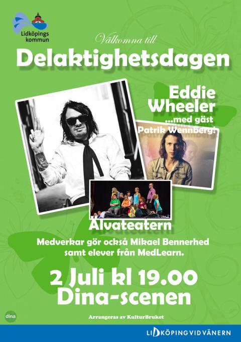 2/7 Sommar i Trägårn: Eddie Wheeler, Patrik Wennberg och Älvateatern