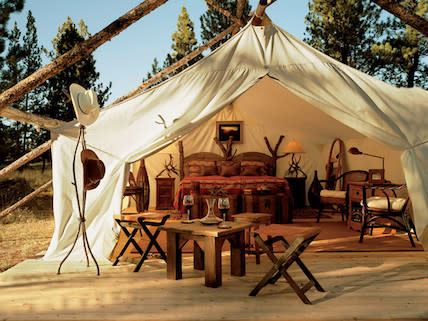 Camping Miramar, Spanien.