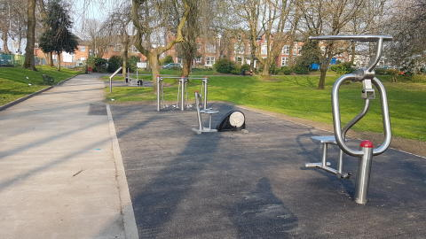 New outdoor gym to get you fit and healthy
