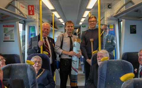 RAFA members travelling between Stafford and Stone