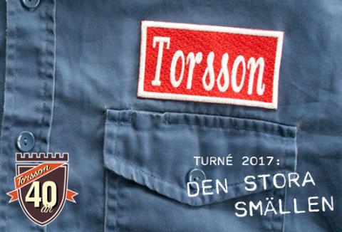 """TORSSON 40 ÅR! - """"Den stora smällen"""""""