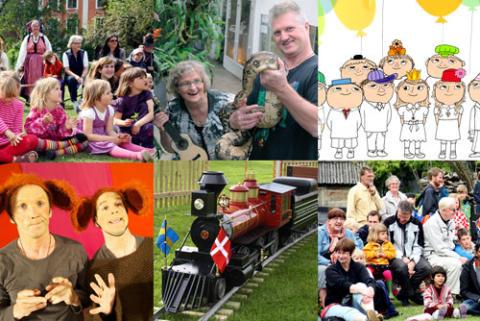 Alfonsteater och Barnens dag inleder Kulturens Sommardagar