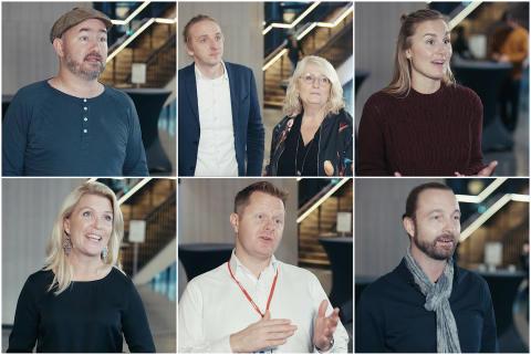 Videointervjuer med talarna från Mynewsday 2016