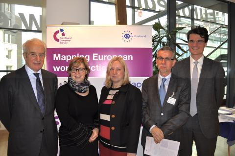 Launch event first finding European Company Survey 26 November 2013