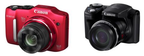 Kom nærmere med Canons nye  PowerShot SX500 IS og  PowerShot SX160 IS