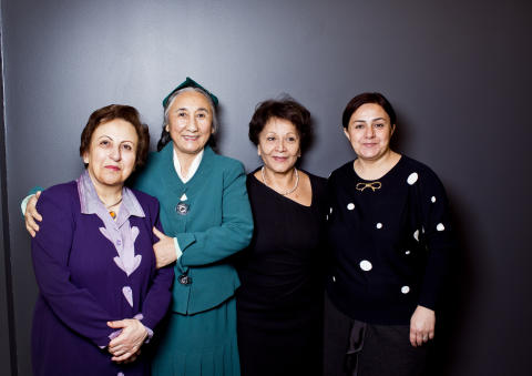 High level meeting of Nobel and Rafto laureates in Oslo: Prominent Muslim woman leaders gather