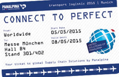 Panalpina @ Transport Logistic 2015 in Munich