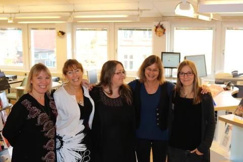 Årets skolbibliotek 2016 tilldelas Polhemskolan i Lund