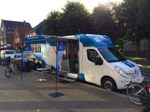 Beratungsmobil der Unabhängigen Patientenberatung kommt am 15. Juni nach Husum.