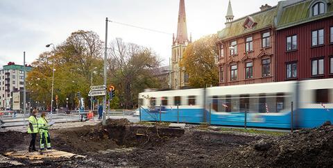 Staden som byggarbetsplats