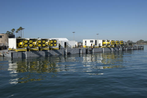 MoorMaster™ AMS units during At Sea Demonstrations