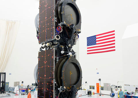 EUTELSAT 115 West B stacked photo released in preparation for Q1 2015 launch