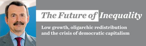 Ojämlikheterna ökar i den marknadsanpassade demokratin