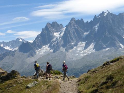 Seeing Mont Blanc from all sides