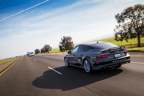 Audi præsenterer nuværende og fremtidige teknologier på CES 2015 i Las Vegas